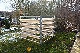 Elmato 14873 Komposter Holz Metall, Erweiterungssatz auf 200 cm