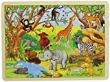 Goki 57892 - Einlegepuzzle - Afrika