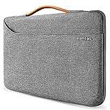 tomtoc 13 Zoll Laptop Tasche Hülle wasserdicht Laptoptasche für 13' MacBook Pro 2020-2016, MacBook Air 2020/2019, Surface Pro X/7/6/5/4, Dell XPS 13 Notebook Sleeve Laptophülle Damen Herren
