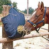 Reitsport Amesbichler HorseGuard Heusack Heutasche Heunetz Futtersack Sack für Heu Heusack mit Fressöffnung und Aufhängeringen