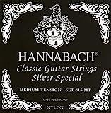 Hannabach 652527 Klassikgitarrensaiten Serie 815 Medium Tension Silver Special - Satz