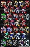 Unbekannt Trends International NHL Masks Poster - Alle 31 Torhüter Masken Poster RP16292