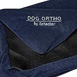 Schecker Dog Ortho 120 x 70 cm Ersatzbezug für orthopaedisches Hundebett Hundekissen Farbe: Mitternachtsblau
