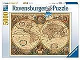 Ravensburger 17411 - Historische Weltkarte Puzzle, 5000 Teile