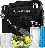 Meal Prep Isolierte Lunchtasche für Männer – Meal Prep Kühltasche mit Behältern – Isolierte Herren Lunchbox für Männer Lunchtaschen für Frauen Herren Lunchtasche für Arbeit Erwachsene