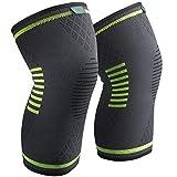 Sable Knieschoner Knieschützer 1 Paar schnellere Genesung, mehr Stabilität und Unterstützung beim Laufen und Joggen Size:M