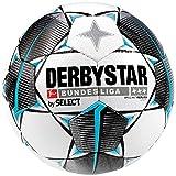 Derbystar Kinder Bundesliga Brillant Light Fußball, weiß schwarz Petrol, 4