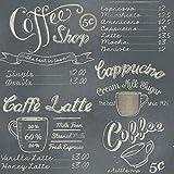 Caffe Latte Küchen Vliestapete 614947 Rasch grau beige