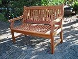 SEDEX Gartenbank New Jersey, 4-Sitzer, Holzbank aus Hartholz 188 cm