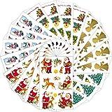 AVERY Zweckform Sticker Set Weihnachten 310 Aufkleber (Weihnachten, Weihnachtspost, DIY, selbstklebend, Weihnachtsdeko, Basteln, Geschenke, Karten, verschiedene Größen, Made in Germany)