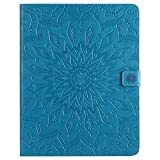 Cozy Hut iPad 2 Hülle,iPad 3 Hülle Case, iPad 4 Leder Tasche Design Sonnenblumen-Serie, Ultra Slim Fit iPad 2/3/4 9.7 Zoll Schutzhülle Etui Bunte PU Ledertasche Flip Case Folding Cover Book