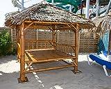 Reelaxx Überdachter Bambus Sala/Pavillon (Braun)
