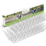 Edelstahl Taubenspikes 3M – Robuste Taubenabwehr - Gut geeignet gegen Vögel, Krähen und Spechte - Einfache Montage - Länge 3m