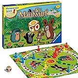 Ravensburger 21570 - Der Maulwurf und sein Lieblingsspiel - Mensch ärgere dich für Kinder, Spiel für Erwachsene und Kinder ab 3 Jahren, für 2-4 Spieler