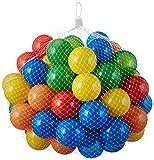 50 Stück bunte Bälle für Kinder, Babys und Tiere , 55mm Durchmesser Kinder ab 0