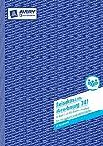 Avery Zweckform 741 Reisekostenabrechnung, DIN A4, für monatliche Abrechnung, 50 Blatt, weiß 5 Stück