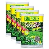 Profigreen 30 kg Eisendünger (4 x 7,5 kg-Vorteilspack) Gartendünger Rasendünger Langzeitwirkung