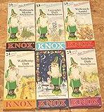 Knox Räucherkerzen Set Aus Tradition 6 Packungen a 24 Stück/Pkg. - Sorten: Waldhonig, Weihrauch-Sandel, Mischung,Veilchen, Lavendel, Myrrhe