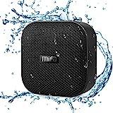 MIFA A1 Bluetooth Mini Lautsprecher Klein Musikbox Duschen Soundbox mit Umhängeband TWS & DSP wasserfest und staubdicht 15 Stunden Spielzeit unterstützt SD-Karte universal kompatibel