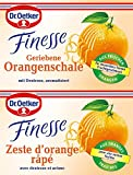 Dr. Oetker Finesse Geriebene Orangenschale, (2 x 6 g)