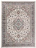 Carpeto Orientteppich Teppich Beige 200 x 300 cm Medaillon Muster Ayla Kollektion