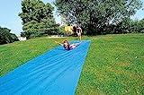 Sport-Thieme Wasserrutschbahn für Kinder u. Erwachsene im Garten   L: 6m, B: 1,10 m   Premium Qualität aus reißfester, strapazierfähiger Folie (1mm)   Anschluss für Gartenschlauch zur Berieselung 1/2'