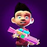 Airsoft Paintball Arena Spiele: Paintball Shooter Nurf Toy Gun Battle
