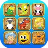 Kinder Gehirn trainieren & trainieren Sie das Gehirn mit Memory Matching Puzzle-Spiel